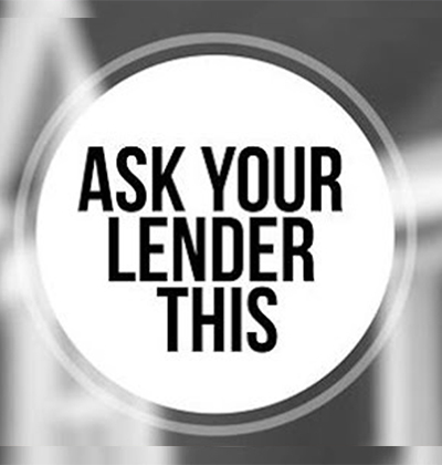 ask your lender this image