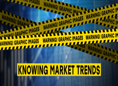 knowing market trends yellow tape